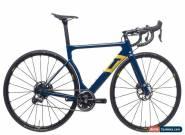 2018 3T Strada Aqua Blue Road Bike X-Small Carbon Shimano Dura-Ace Di2 9070 1x11 for Sale
