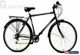 Classic Classic Men's Touriste Commuter Bike - Black ( Wheel 700C, Frame 22 Inch)  for Sale