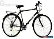 Classic Men's Touriste Commuter Bike - Black ( Wheel 700C, Frame 22 Inch)  for Sale