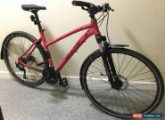 Whyte Ridgeway 2018 Ladies Hybrid Bike Pink Size Large for Sale
