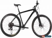 "USED 2017 Breezer Cloud 9 XL 21"" Carbon Hardtail Mountain Bike Shimano XT 1x11 for Sale"