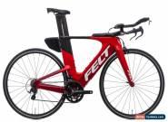 2018 Felt IA 16 Time Trial Bike 54cm Carbon Shimano 105 FSA Microshift for Sale