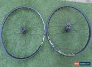 x2 A PAIR OF NEW MAVIC XM 319 DEORE BLACK RIMS 32 SPOKE 584 X 19C freepost for Sale