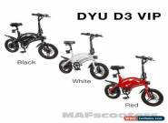 DYU D3  VIP Electric Bikes 10.4 Lithium Battery High standard Road Legal for Sale