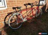 Trek tandem bicycle, perfect for touring and long bike rides for Sale