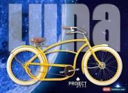 Basman LUNA Project 346 limited edition stretch cruiser bobber chopper custom for Sale