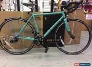 Bianchi Vigorelli Sram Apex 10X2 speed. Road bike.NEW.51cm. Celese for Sale