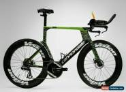 CANNONDALE SuperSlice Carbon Ceramic Speed Triathlon Bike Andy Potts IRONMAN for Sale