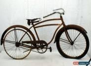 Schwinn Vintage Cruiser Bike L 57cm 40's Restoration Project USA Steel Cahrity! for Sale