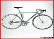 NOS BIANCHI REKORD CELESTE 8S SPEED VINTAGE STEEL ROAD BICYCLE 90s CAMPAGNOLO for Sale