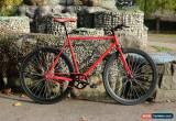 Classic RED  TEMAN Brand new Single Speed Freewheel Road Bike Flip Flop hub bicycles for Sale