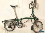 Brompton P6R X Titanium 6 Speed Folding Bike + SON Dynamo + Rack + Eazy Wheels for Sale
