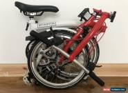 Brompton World Championship Limited Edition S6L 2018 Folding Bike for Sale