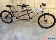 Raleigh  MTN bike tandem shimano DEORE /DISC WHEELS IN NICE CONDITION M/S for Sale