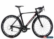 2012 Scott Foil Team Issue Road Bike 52cm Carbon SRAM Red 10s Easton EC90 Aero for Sale
