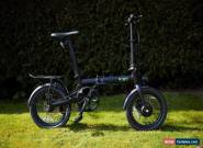 E-GO ELECTRIC FOLDING E-BIKE 36v LIGHTWEIGHT & PORTABLE UNISEX ROAD LEGAL CITY for Sale