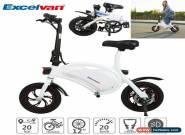 Folding Electric Bicycle E-BIKE 36V 250W Portable Mini Folding Bikes 25KM/H LED for Sale