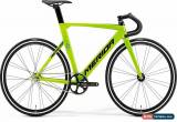Classic Merida 2019 Reacto Track 500 Size M  L 54 CM Black/Green Track Carbon Raod Bike for Sale