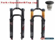 "LUTU 26/27.5/29"" MTB Bike Air Suspension Fork 120mm Travel 1-1/8"" Disc brake UK for Sale"