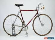 De-Rosa Built Vintage Steel F Moser Cromovelato Bike 54cm Campagnolo Record  for Sale