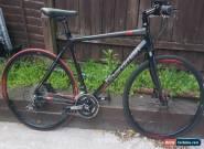 Chris Boardman bicycle cb 3XB/SL Large Size carbon black shimano 105 fsa lot  for Sale