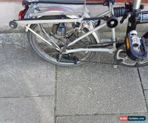 Classic Brompton M6R folding bike shipping worldwide available  for Sale