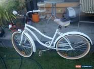 SOUTHERN STAR WHITE LADIES FIXED SPEED BIKE BASKET ETC RETRO for Sale