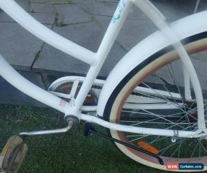 Classic SOUTHERN STAR WHITE LADIES FIXED SPEED BIKE BASKET ETC RETRO for Sale