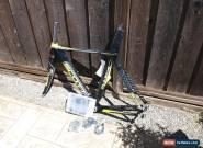 New 2010 Scott Plasma CR1 ISP HMX Carbon Time Trial TT Frameset 49 cm NOS for Sale