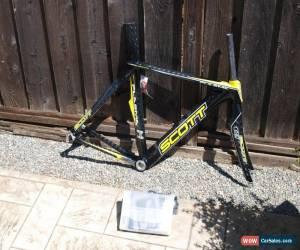Classic New 2010 Scott Plasma CR1 ISP HMX Carbon Time Trial TT Frameset 49 cm NOS for Sale