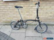 Brompton H3L Folding Bike 2014 GOOD CONDITION +WORLDWIDE SHIPPING for Sale