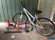 Ladies Road Bike +Helmet +Exercise Stand for Sale