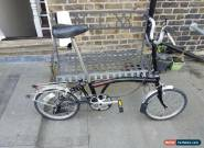 Brompton M3R 3 speed vintage folding bike shipping worldwide for Sale