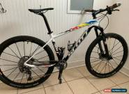 2016 Scott Scale RC 700, Medium Sram XX1 XTR Nino Shurter Mountain Bike White  for Sale
