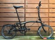 brompton M6L Black Edition folding bike Use Shipping To Worldwide Available for Sale