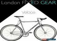 "London FIXED GEAR ""Veloce"" Aluminium Silver Fixie for Sale"