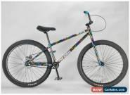 MAFIABIKES Blackjack Medusa Blue Splatter 26 inch Wheelie Bike for Sale