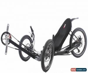 Classic USED KMX Karts Typhoon Recubent Tricycle Trike Adult 1x8 Speed Grip Shift Black for Sale