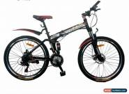 "Pedalease 26"" Folding mountain bike - mudguards, disc brake, suspension,tool kit for Sale"