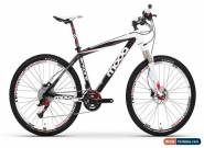 Moda Encore Carbon Hardtail MTB - Black/White for Sale