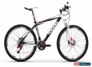Moda Encore Carbon Hardtail MTB - Black/White for Sale
