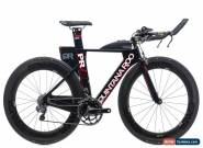 2016 Quintana Roo PRFive Triathlon Bike 48cm Carbon Shimano Ultegra Di2 11s ENVE for Sale