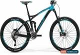 Classic Merida One Forty 700 2017 Full Suspension Mountain Bike Shimano XT Size L for Sale