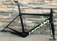 2018 Cervelo R5 Carbon Road Frameset Di2 Wired 54cm Rim Brake Black/Fluoro for Sale