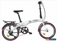 "Ecosmo 20"" Wheel Lightweight Aluminium Folding Bicycle Bike 7 SP, 12kg - 20AF09W for Sale"