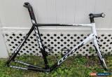 Classic LOOK 595 Carbon Road Bike Frameset Large XL 57cm for Sale
