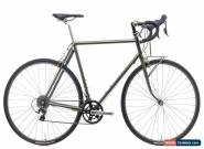 2018 Winter Bicycles Custom Road Bike Large Steel Shimano Dura-Ace 11 Speed for Sale
