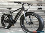NEW! FATBIKE 28MPH OPEAK EBike Electric Bike BLACK 9 Speed Bicycle e-bike 750Wx for Sale