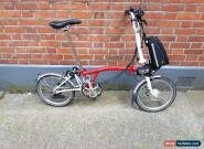Brompton M6L nano electric folding bike shipping worldwide  for Sale