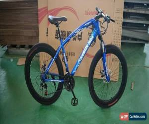 """Classic 26""""  BLUE  Bicycle Mountain Cruiser Bike 21 Speed  for Sale"""